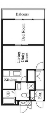 アトリウム白金 / 1階 部屋画像1