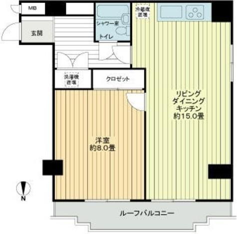 ライオンズマンション平河町 / 2階 部屋画像1