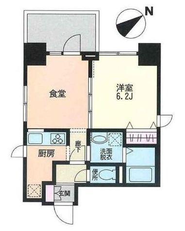 Fontaine Miwa(フォンテーヌ美和) / 701 部屋画像1