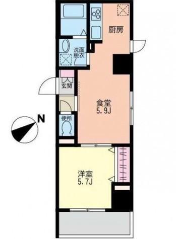 Fontaine Miwa(フォンテーヌ美和) / 3階 部屋画像1