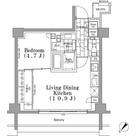 パークハビオ月島 / 2階 部屋画像1