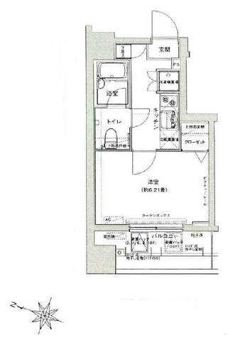 ドルチェ池袋ノース弐番館NC / 2階 部屋画像1