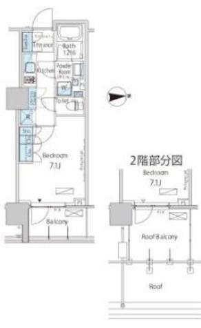 パークアクシス池田山 / 6階 部屋画像1