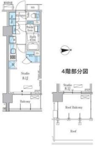 パークアクシス池田山 / 5階 部屋画像1