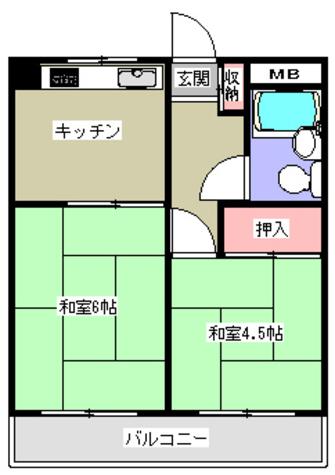 湯島台レジデンス / 4階 部屋画像1