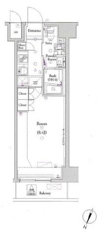 ヴォーガコルテ板橋本町Ⅱ / 10階 部屋画像1