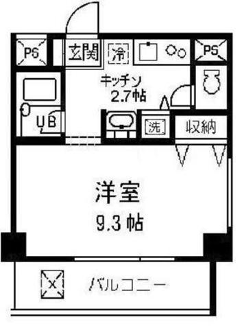 代々木パークウエスト / 4階 部屋画像1