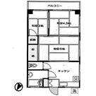 安井マンション / 201 部屋画像1