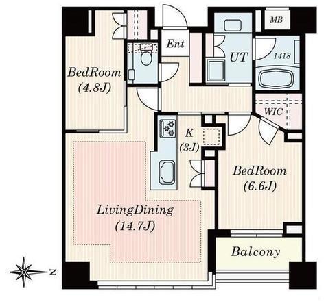 南青山マスターズハウス / 5階 部屋画像1