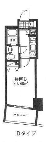 レジディア日本橋人形町Ⅱ(旧アルティス人形町) / 203 部屋画像1
