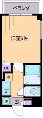 メゾンアミ / 3階 部屋画像1