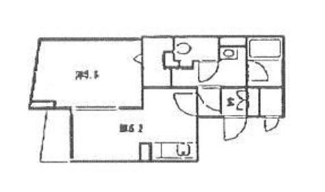 銀座レジデンス伍番館 / 4階 部屋画像1