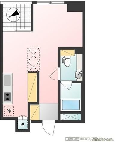 フリーディオ広尾南 / 3階 部屋画像1