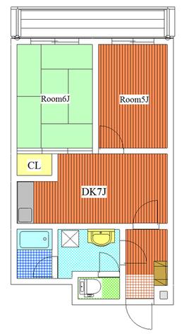 パストラル野沢壱番館 / 302 部屋画像1