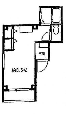 WINGVILLAGE目黒(ウィングビレッジ目黒) / 2階 部屋画像1