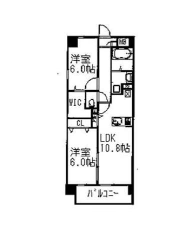 サテンシティ千駄木 / 4階 部屋画像1