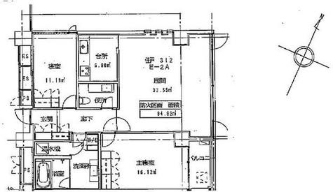 クエストコート原宿 / 3階 部屋画像1