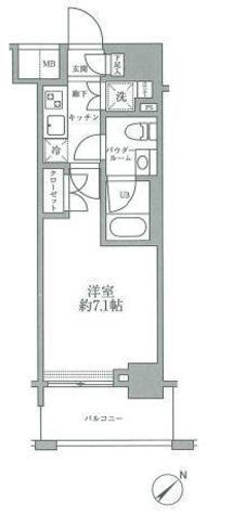 スパシエグランス横浜反町 / 702 部屋画像1