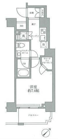 スパシエグランス横浜反町 / 603 部屋画像1
