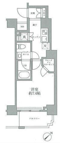 スパシエグランス横浜反町 / 9階 部屋画像1