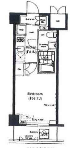 アーデン門前仲町 / 4階 部屋画像1