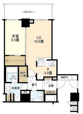 ザ・ライオンズ上野の森 / 12階 部屋画像1