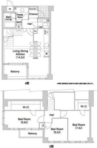 コンフォリア碑文谷 / 4階 部屋画像1