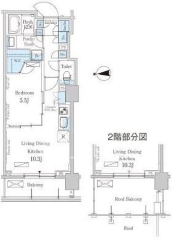 パークアクシス池田山 / 3階 部屋画像1