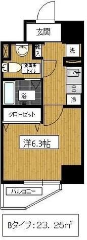 渋谷 7分マンション / 502 部屋画像1