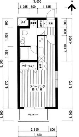 広尾レジデンスA棟(旧レジディア広尾(A棟)) / 306 部屋画像1