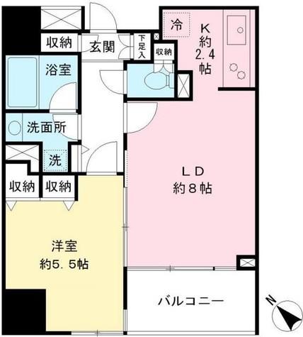 VIA LATTEA笹塚(ヴィア ラッティア笹塚) / 802 部屋画像1