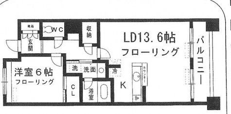 HF銀座レジデンスEAST(旧グレンパーク銀座EAST) / 1102 部屋画像1