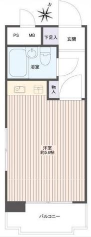 ライベストコート横浜Ⅰ / 1階 部屋画像1