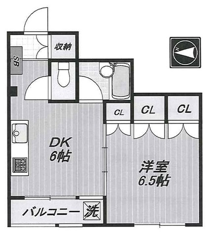 ル・シエール平町 (平町1) / 2階 部屋画像1