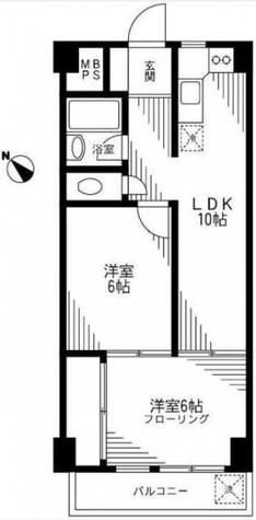 ブルーストーンハイム / 2階 部屋画像1