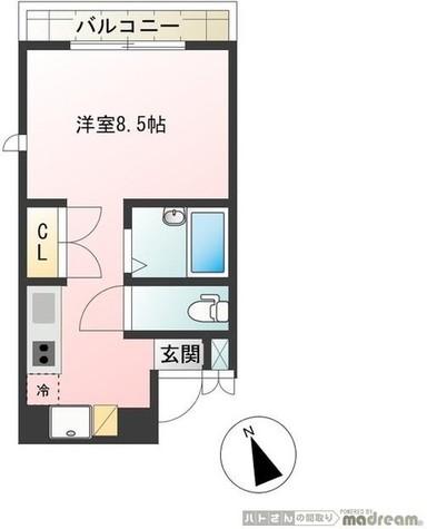 フローリッシュK / 2階 部屋画像1