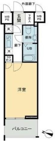 パトリア九段下(旧クレジデンス九段) / 11 Floor 部屋画像1