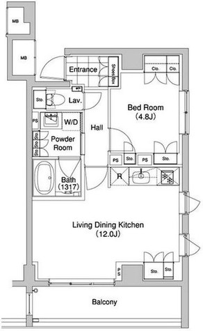 代官山BLESS(代官山ブレス) / 2階 部屋画像1