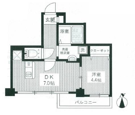 HY'sYOKOHAMALIGARE(ハイズヨコハマリガーレ) / 6階 部屋画像1