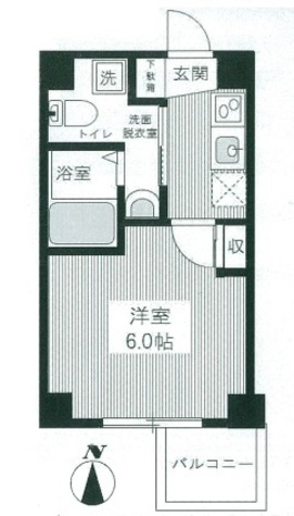 HY'sYOKOHAMALIGARE(ハイズヨコハマリガーレ) / 202 部屋画像1