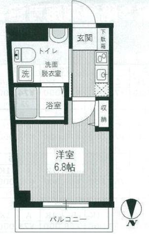 HY'sYOKOHAMALIGARE(ハイズヨコハマリガーレ) / 7階 部屋画像1