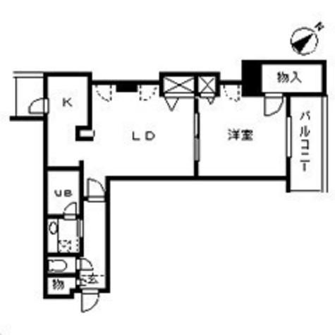 友泉岩本町レジデンス / 9階 部屋画像1