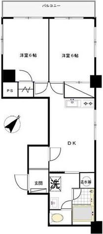 マンション芝公園 / 8階 部屋画像1