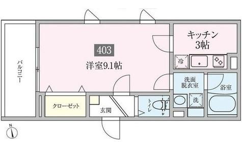 プランドール横浜 / 403 部屋画像1