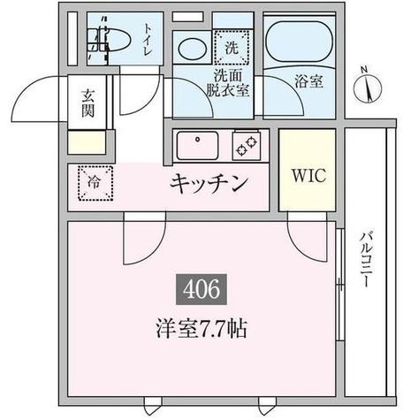 プランドール横浜 / 3階 部屋画像1