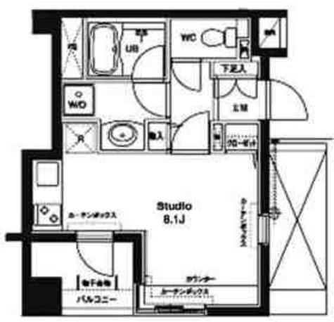 コンフォリア銀座EAST / 1104 部屋画像1