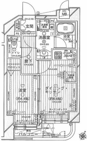 デュオ・スカーラ笹塚 / 2階 部屋画像1