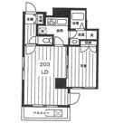 広尾リブレット / 2階 部屋画像1