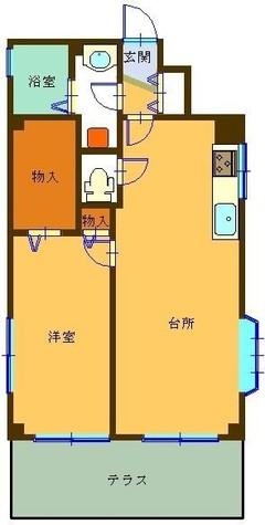 アヴェニール笹塚 / 1階 部屋画像1