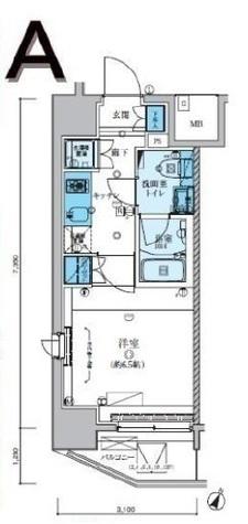 リヴシティ川崎 / 10階 部屋画像1